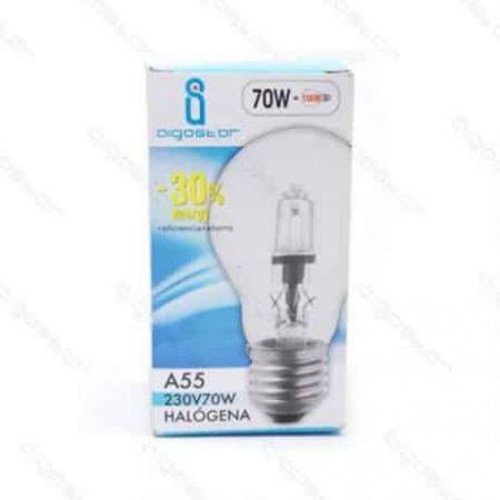 Halogenska žarnica E27 A55 53W (70W)