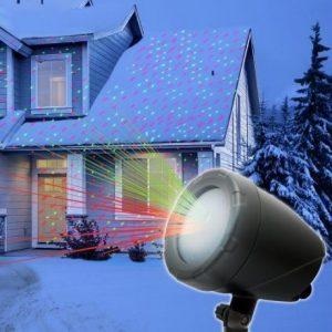 Laserski projektor laser show za dekoracijo