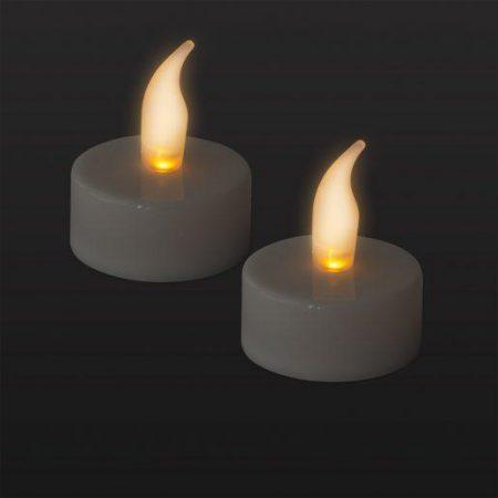 LED čajna svečka z baterijo 2 kosa