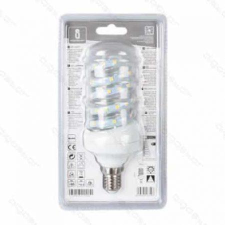 LED žarnica - sijalka E27 11W (100W) spiralna hladno bela 6400K