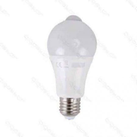 LED žarnica - sijalka E27 12W s senzorjem toplo bela 3000K