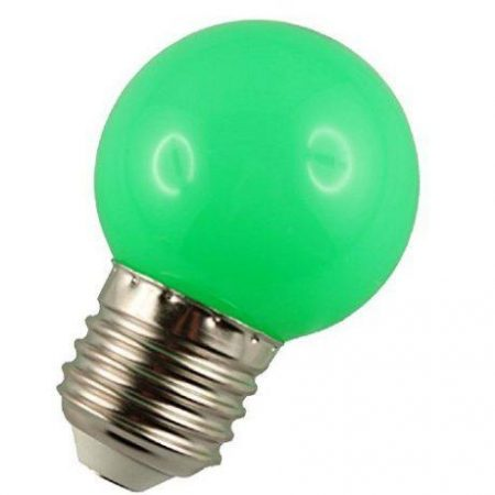 LED žarnica - sijalka E27 1W (10W) zelena