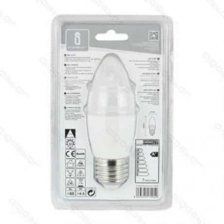LED žarnica - sijalka E27 C37 7W hladno bela 3000K