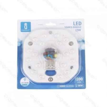 LED modul za plafoniere z magnetom 12W 6300K