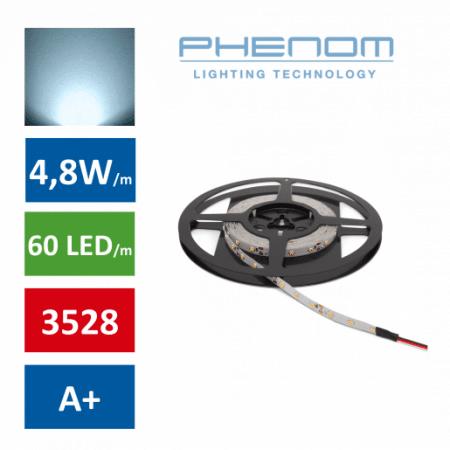 LED trak 5m 4,8W/m hladno beli 6000K