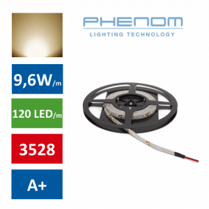 LED trak 5m 9,6W/m toplo beli 3000K