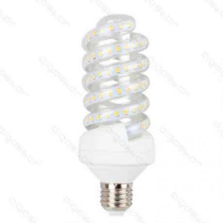 LED žarnica - sijalka E27 spiralna 20W hladno bela 6400K