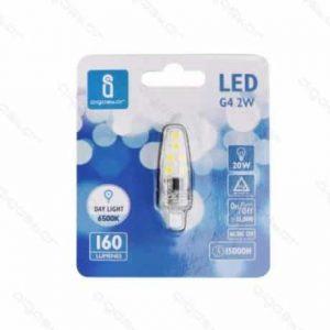 LED žarnica - sijalka G4 2W hladno bela 6500K