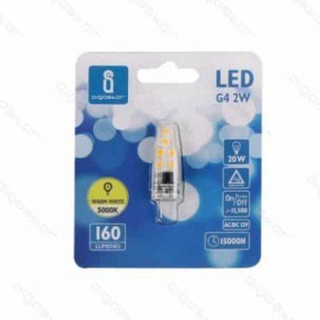 LED žarnica - sijalka G4 2W toplo bela 3000K