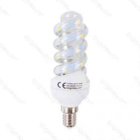 LED žarnica - sijalka spiralna E14 B5 5W toplo bela 3000K