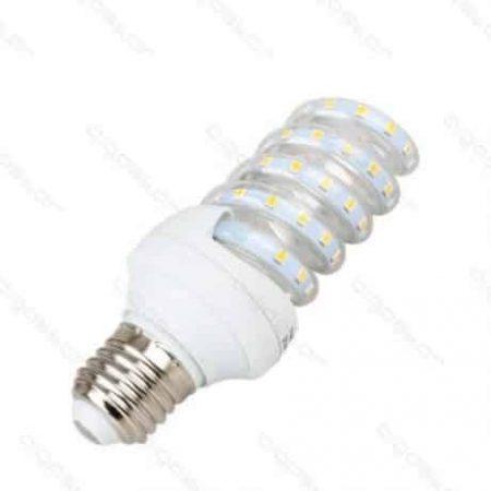 LED žarnica - sijalka spiralna E27 B5 11W toplo bela 3000K