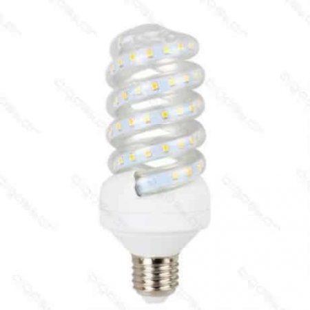 LED žarnica - sijalka spiralna E27 B5 15W toplo bela 3000K