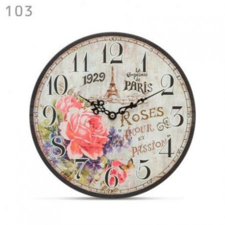 "Retro stenska ura ""Paris"""