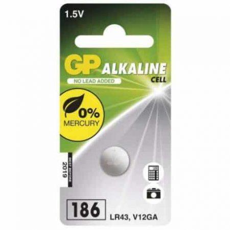 Baterija GP gumbna 186 1 blister