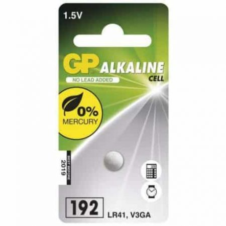 Baterija GP gumbna LR41 (192) 1 blister