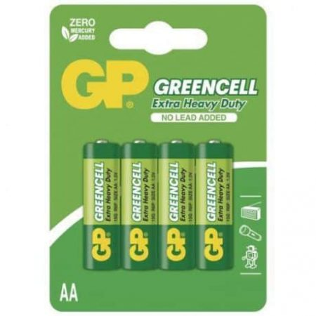 Baterije GP GREENCELL AA 4 kosi