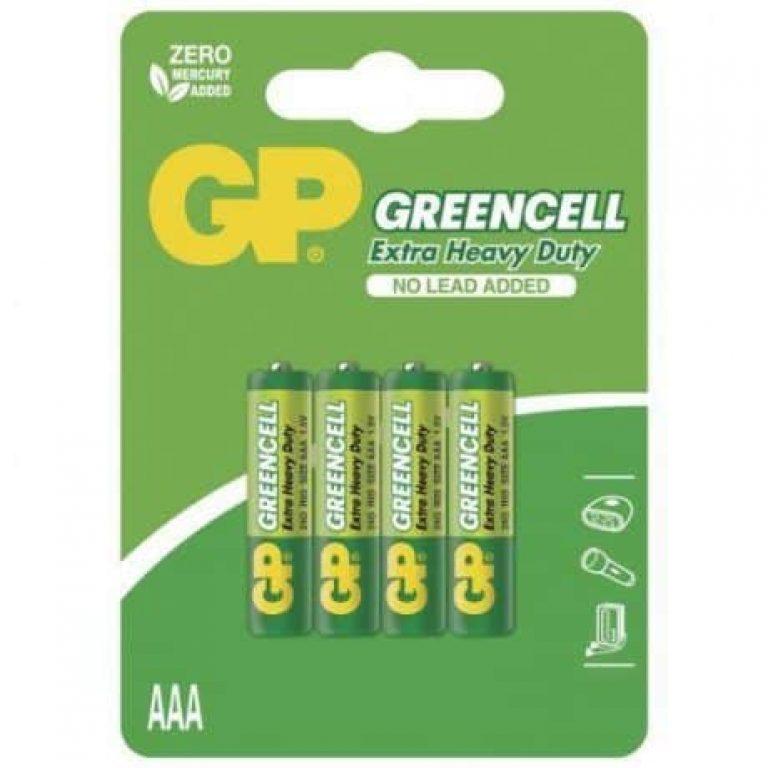 Baterije GP GREENCELL AAA 4 kosi