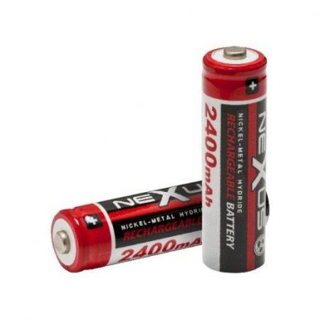 Baterije za ponovno polnjenje AA HR06 Ni-MH 2400 mAh  2 kosa