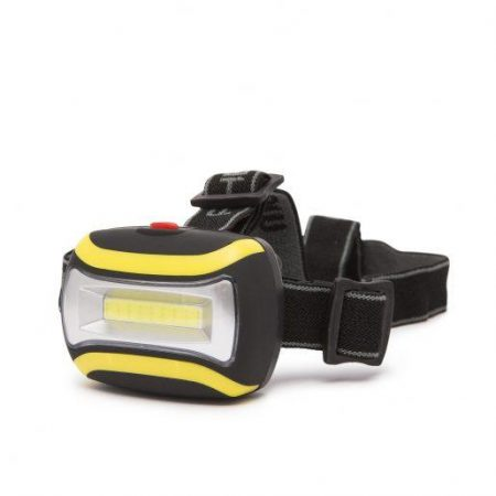 COB LED naglavna svetilka