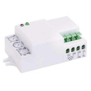 Mikrovalovni senzor gibanja IP20 1200W beli