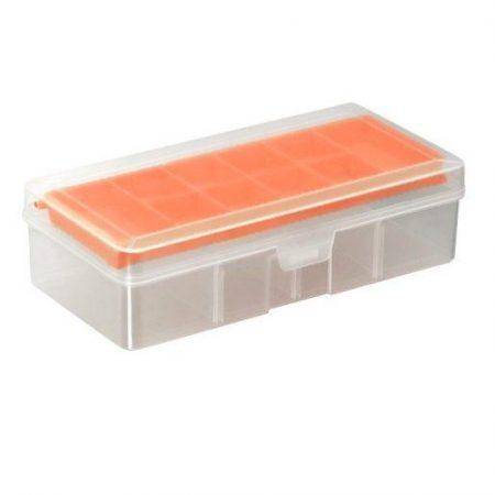 Plastična škatla za drobnarije s predalčki