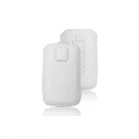 Univerzalni ovitek za mobilni telefon beli - žepek