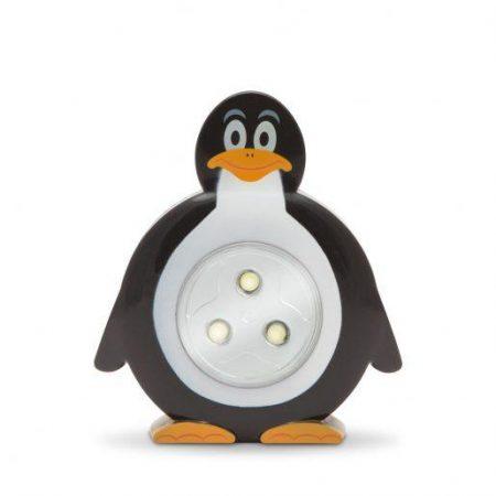 Otroška LED svetilka na dotik v obliki pingvina