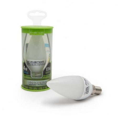 LED žarnica - sijalka E14 4W hladno bela 6000K