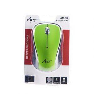 Brezžična računalniška miška zelena