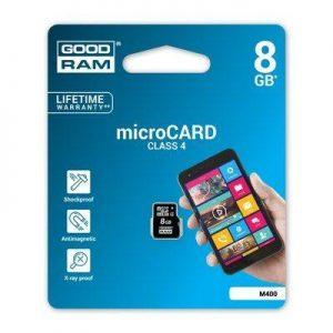 MicroSD spominska kartica 8GB brez adapterja
