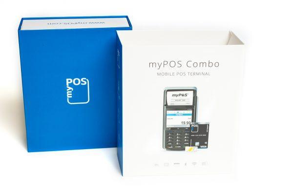 Mobilni POS terminal myPOS combo D210C moder