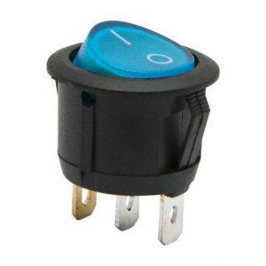 Univerzalno stikalo 250V 6A z modro LED diodo