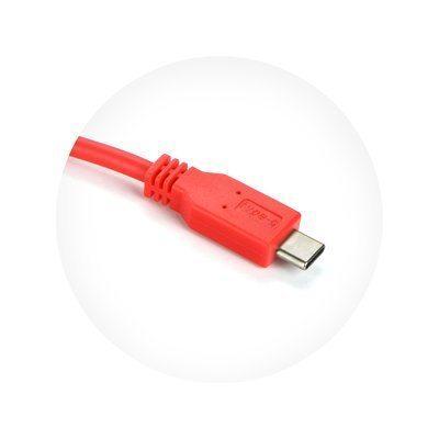 USB-C 3.0 kabel rdeč 1m
