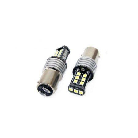 Avto LED žarnica - sijalka CANBUS 15SMD 2835 7,5W BA15D 1157 (P21/5W) 12V/24V 5000K kos