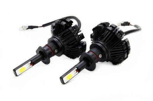 Avto LED KIT za glavne luči H1 60W 3000LM 6000K (idealno bela)