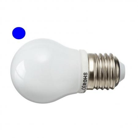 LED žarnica - sijalka 2,5W 8 LED modra