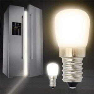 LED žarnica - sijalka za hladilnik ali napo E14 T26 2W hladno bela 6500K