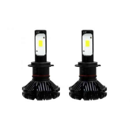 Avto LED KIT za glavne luči H7 60W 3000LM 6000K (idelano bela)