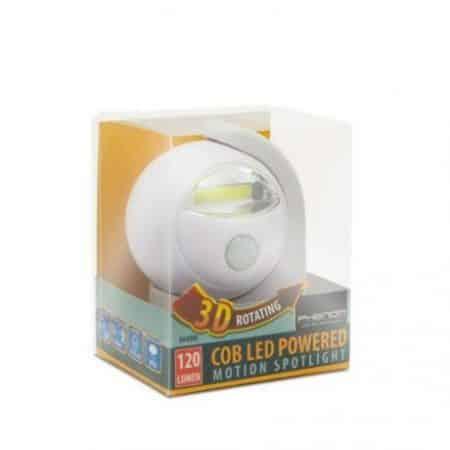 COB LED baterijska svetilka s senzorjem gibanja