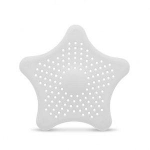 Filter za odtok v obliki zvezde beli