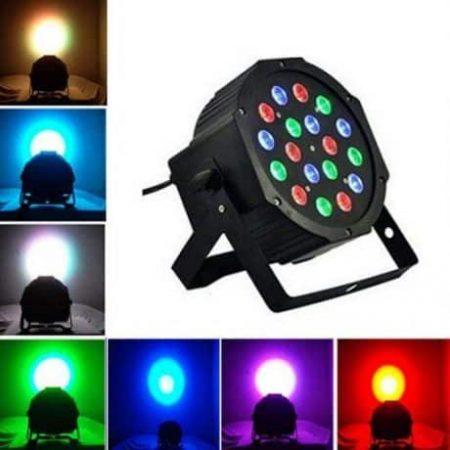 RGB LED DMX reflektor 18 LED