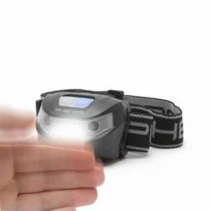 USB  COB LED polnilna naglavna svetilka z vklopom s senzorjem gibanja s 3 načini delovanja