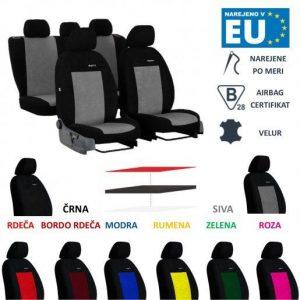 Tipske avtoprevleke zašite po merah za Mitsubishi Pajero Sport III