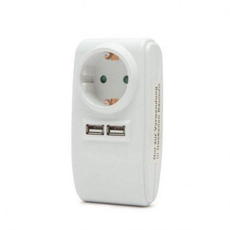 Šuko vtičnica z USB