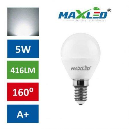 LED žarnica - sijalka E14 B45 5W (40W) nevtralno bela 4000K