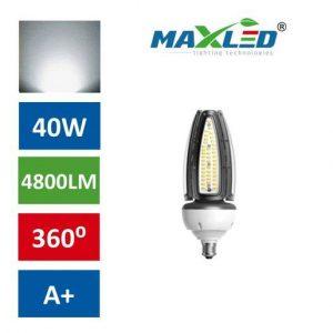 LED žarnica sijalka E40 40W 5500K