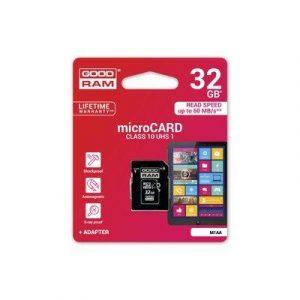 MicroSD spominska kartica 32GB CLASS 10 UHS I z adapterjem