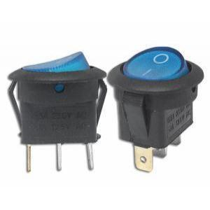 Stikalo z LED diodo SW01 230V modro