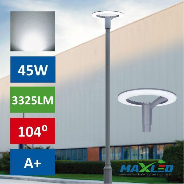 Ulična LED svetilka RING LED 45W 3325LM 4000K