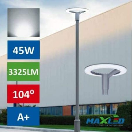 Ulična LED svetilka RING LED 45W 3325LM 4000K